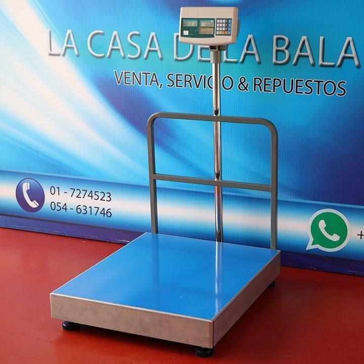 Balanza Digital de Plataforma Sukuri de 600 KG