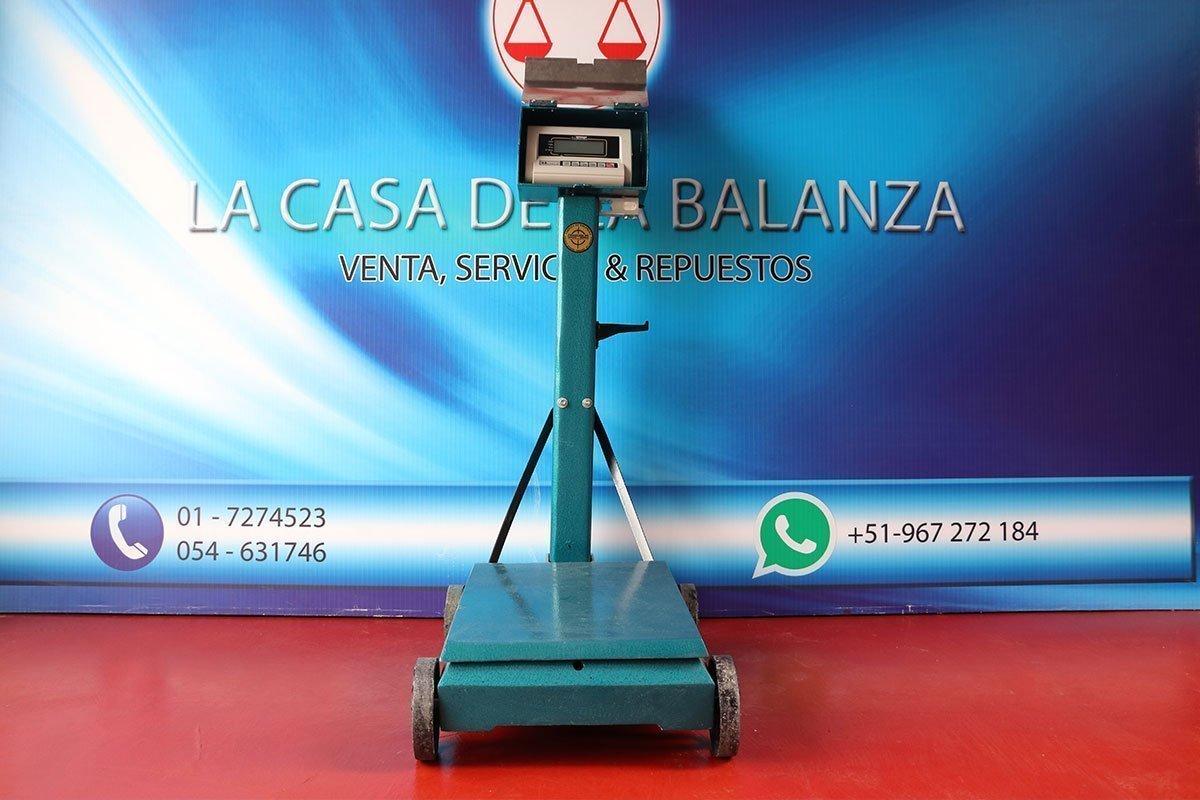 Balanza Electromecánica Henkel de 500 kg